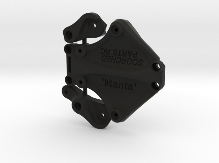 Twin Hammers 'Manta' Bell Crank Steering 3d printed