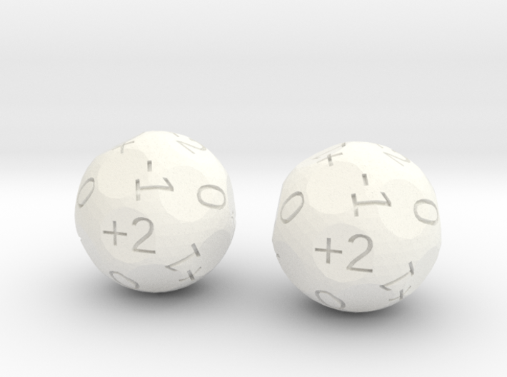 4dF in two (d18s) 3d printed
