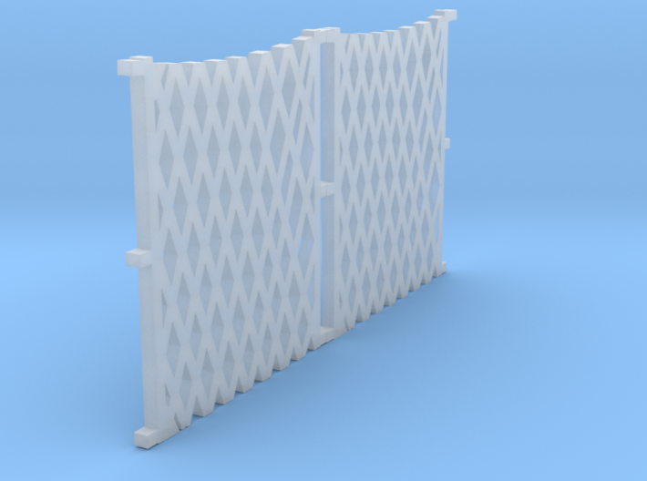 o-76-lswr-folding-gate-set 3d printed