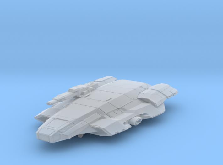 Hawk att ship 3d printed