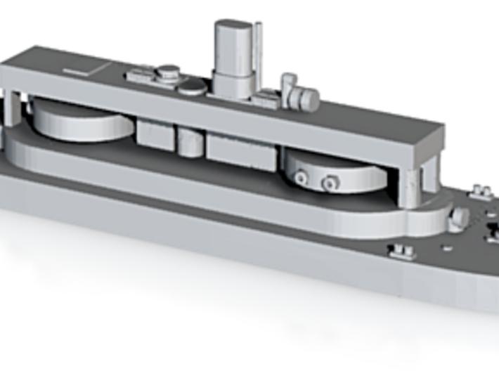 HMAS Cerberus 3d printed