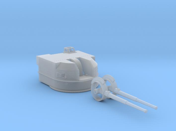 "1/144 Battle Class 4.5""/45 QF MKIV RP10 Gun x1 3d printed 1/144 Battle Class 4.5""/45 QF MKIV RP10 Gun x1"