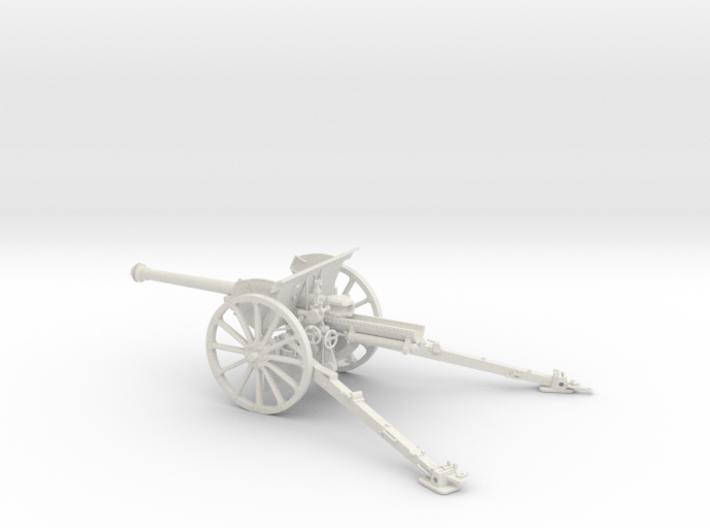 1/30 IJA Type 90 75mm Field Gun (horse drawn) 3d printed