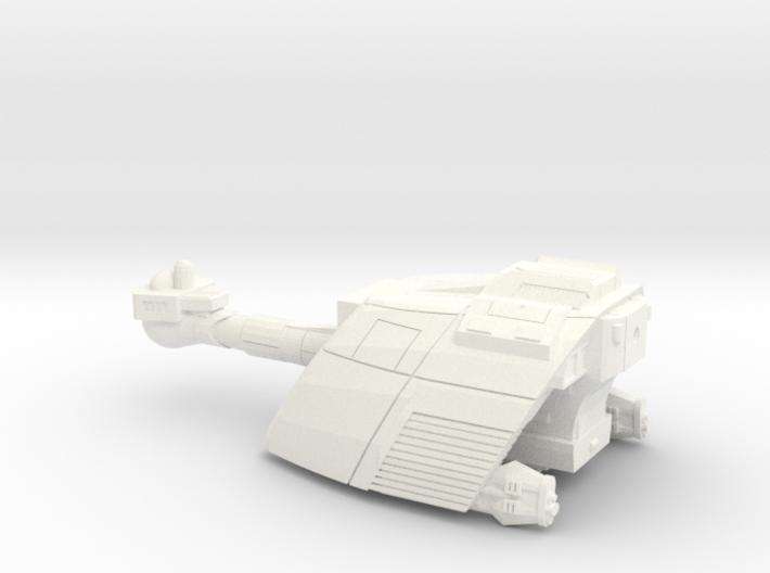 L13e battleship 3d printed