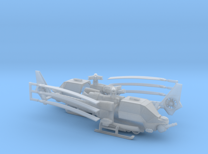 035C Modified Gazelle Pair 1/144 3d printed