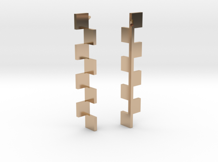 Goeritz Earrings 3d printed