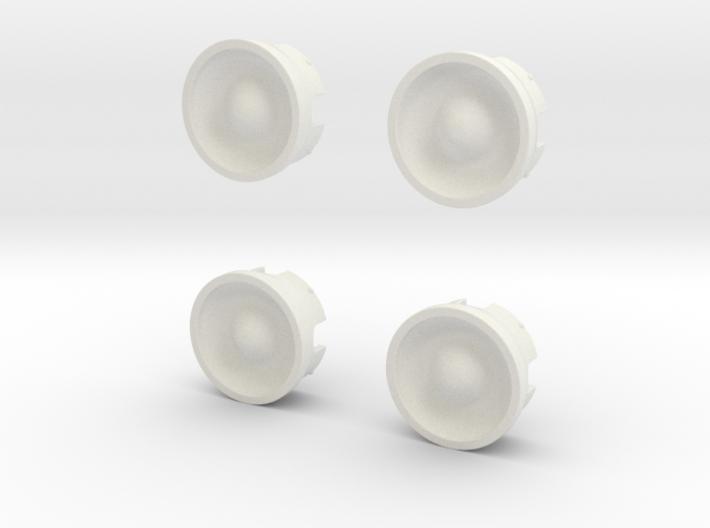 Wheel-cap-set 3d printed