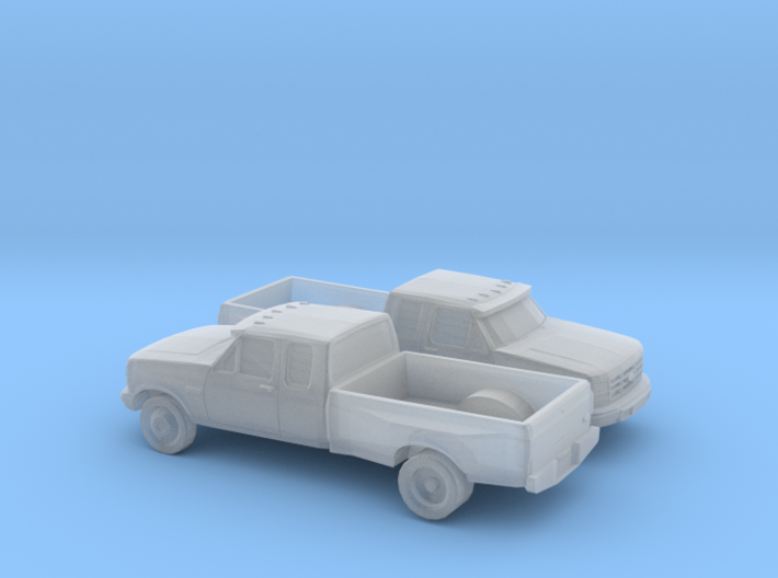 1/160 2X 1994 Ford F Series Extendet Cab Dually 3d printed