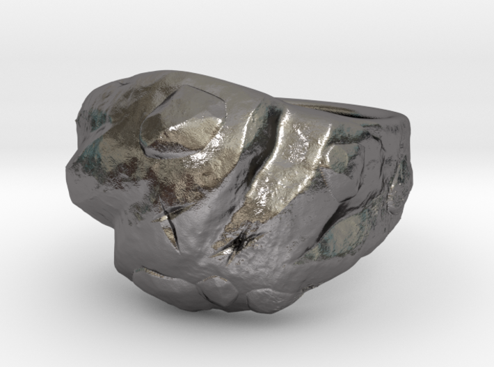 Rock ring 3d printed