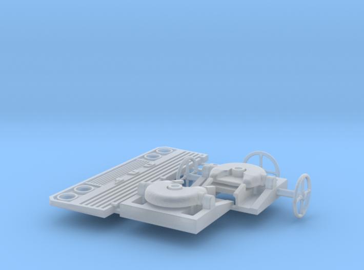 Koppelschotel en stuur 3d printed