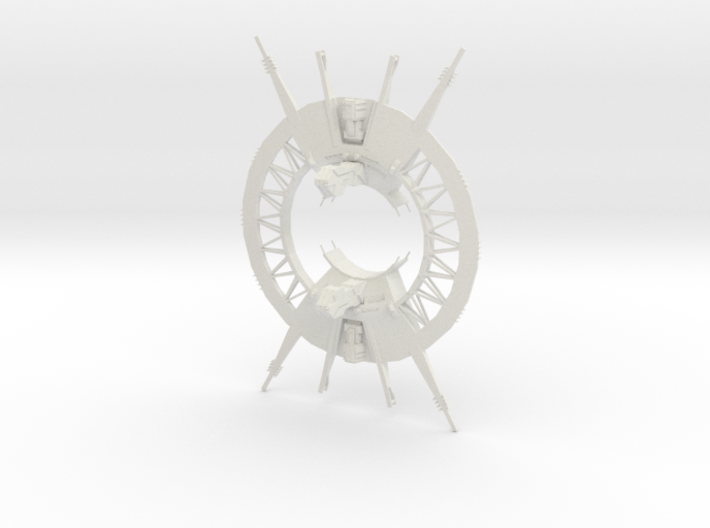 Outer Rim - Trade Port and Space Gate 3d printed