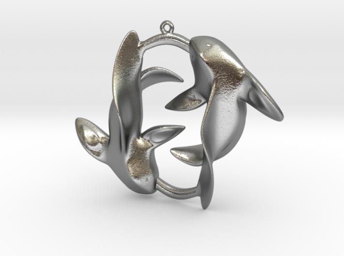 Circle of Fish 3d printed