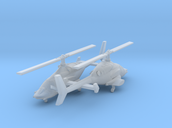 030K Modified Bell 222 Pair 1/350 3d printed