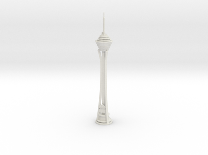 Stratosphere Tower (1:2000) 3d printed