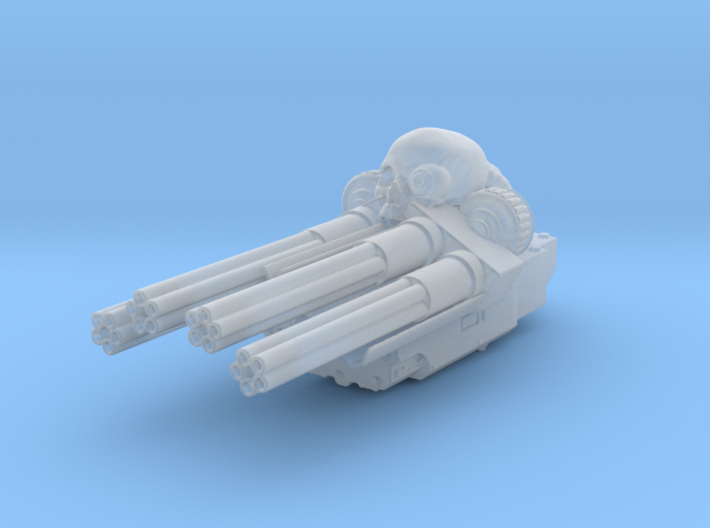 Salvager Ramparts Chaincannon Turret 3d printed