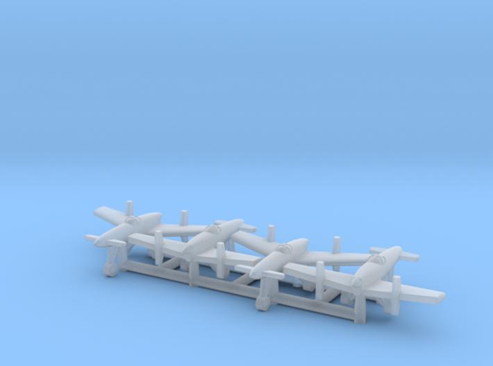 (1:700) (x4) Yokosuka MXY-6 3d printed