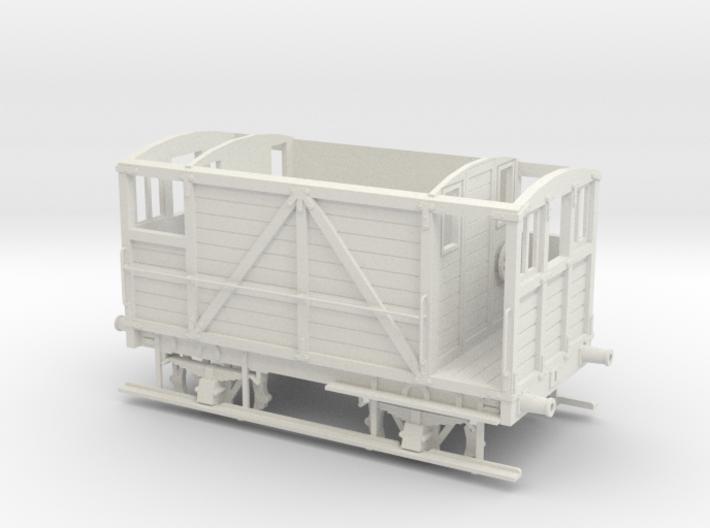 Furness Railway/LMS/British Railways 10-12ton Brak 3d printed