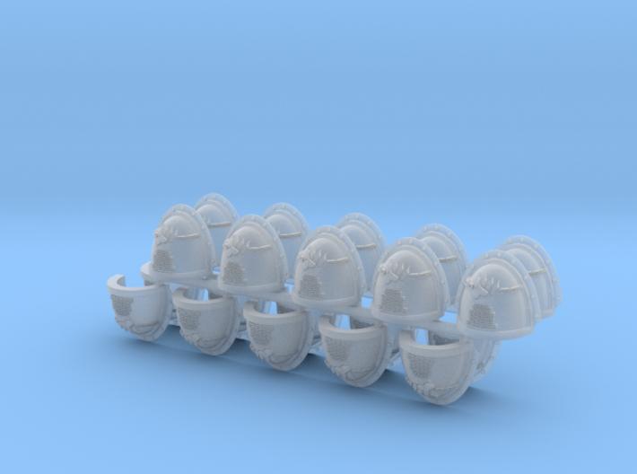 Commission 27 Shoulder Pads Mk3 #3 x20 3d printed