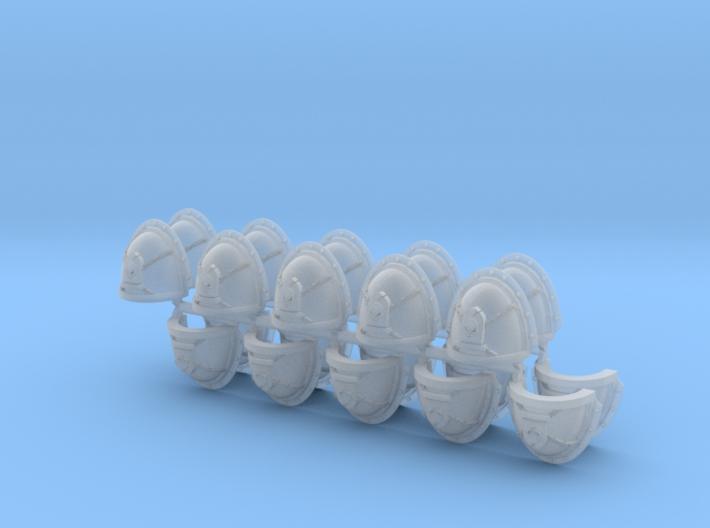 Commission 27 Shoulder Pads Mk3 #2 x20 3d printed