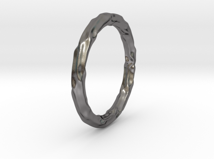 Abstract Water Bracelet 3d printed