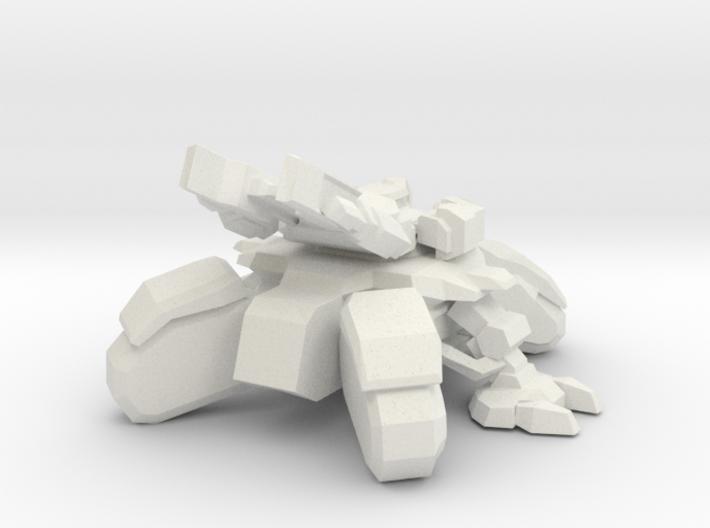 1/60 Siege Tank in Siege Mode 3d printed