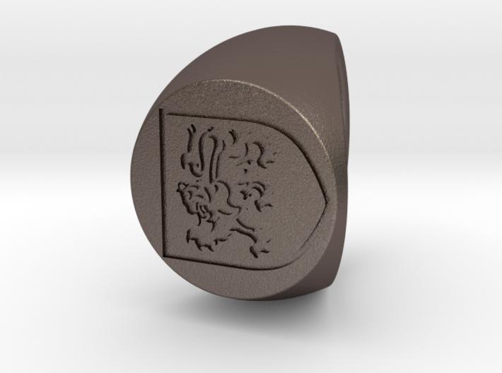 Custom Signet Ring 77 3d printed