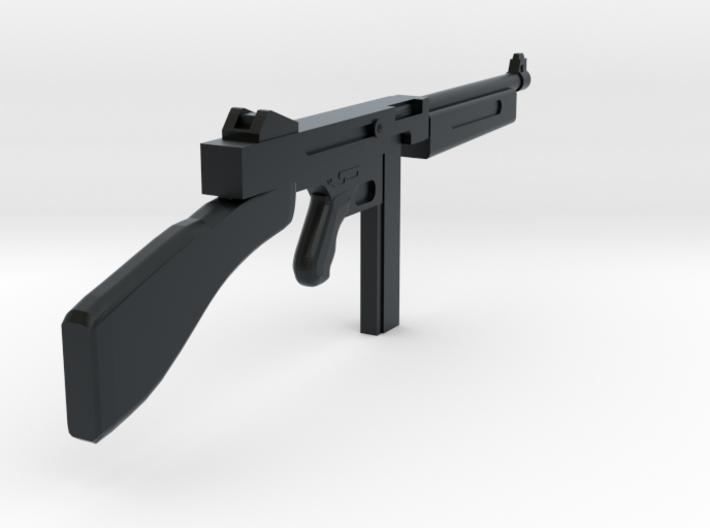 1/18 Thompson machine gun miniature 3d printed