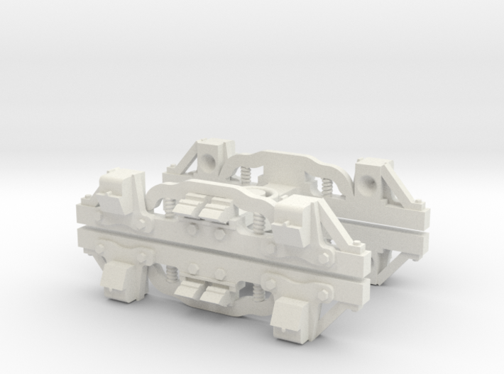 On20 Passenger truck 3d printed