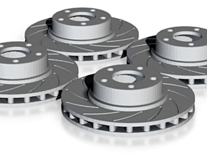 Nascar Rotor Set 3d printed