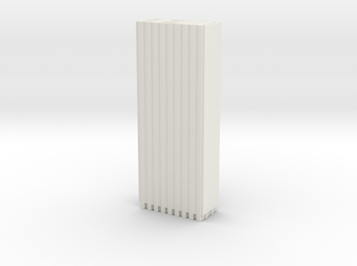 One Chase Manhattan Plaza - New York (1:4000) 3d printed