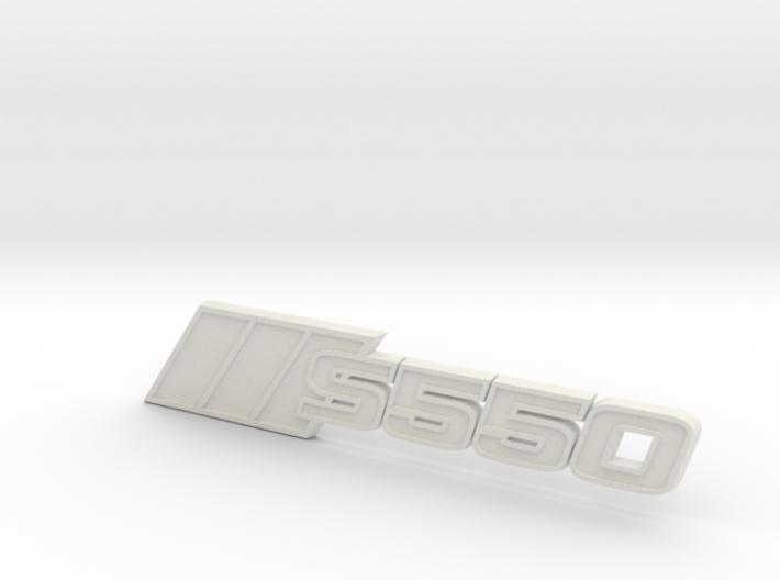 Ford Mustang S550 Tri-Bar Fender Badge 3d printed