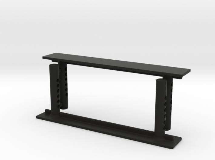 JK17017 SCX10ii hook & loop mount 3d printed