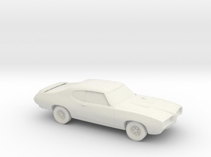 1/87 1969 Pontiac GTO 3d printed