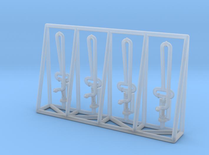 N Scale 4x Fuel Crane 1 Short 3d printed