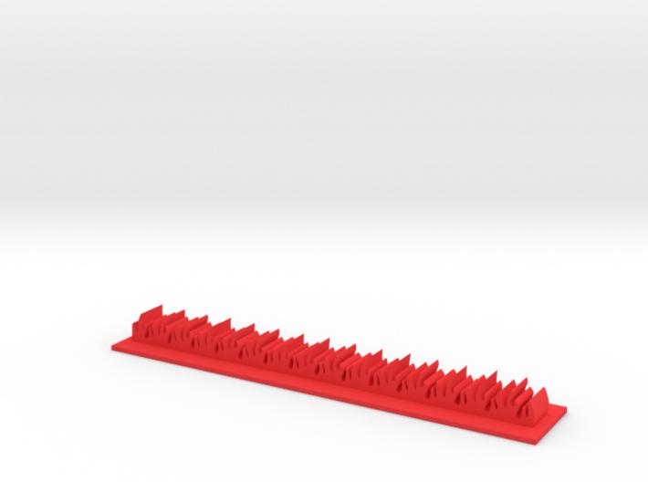 Napalm Strike Stripe 3d printed