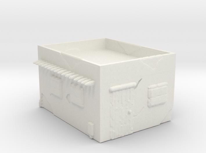 Adobe Garrision - Single flat 3d printed