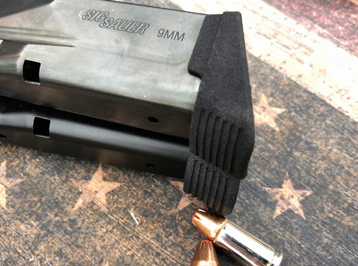 Large Extended Base Pad for SIG P365 3d printed