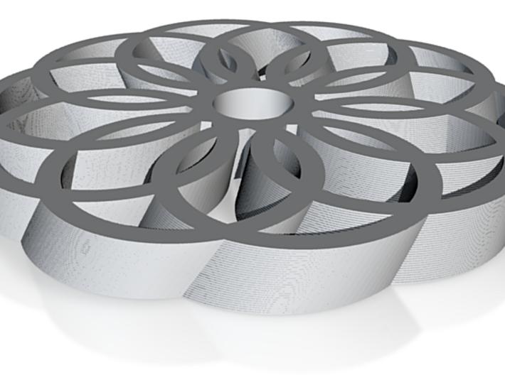 Geometric Trivet 3d printed