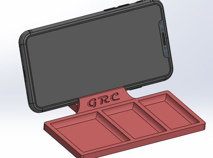 Part Tray - iPhone Holder 3d printed