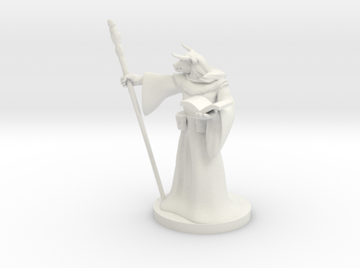 Minotaur Wizard 3d printed