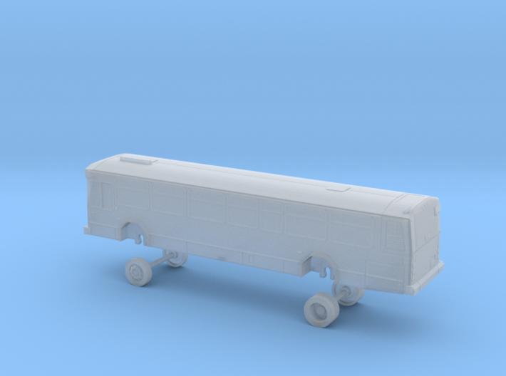 N Scale Bus Gillig Phantom Westcat 100-111 3d printed