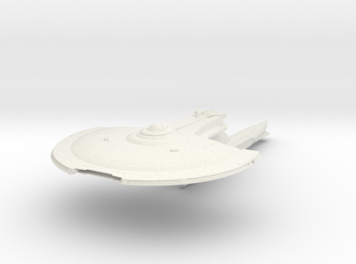 Federation Fox Class Destroyer 3d printed