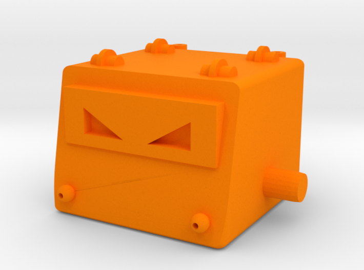 Omegatron Head 3d printed