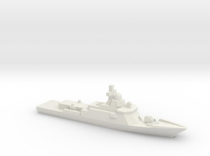 Karakurt-class corvette, 1/1800 3d printed
