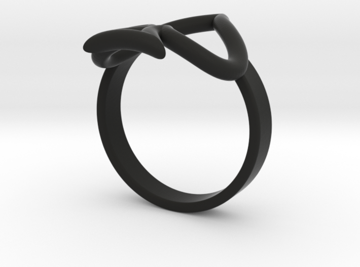 Simple Ace Ring 3d printed