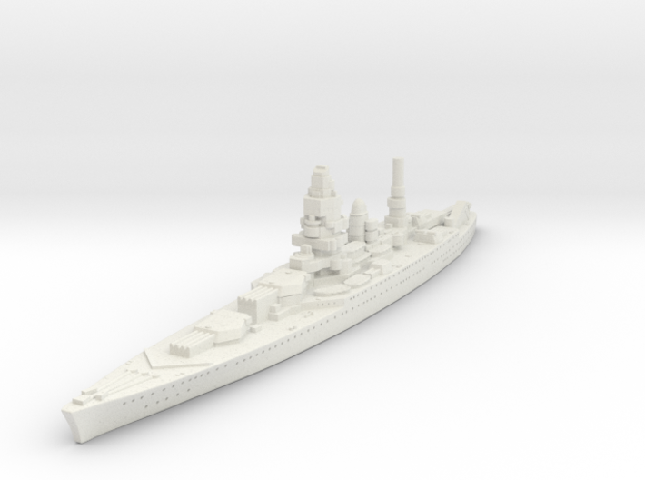 Dunkerque Class (France) 3d printed