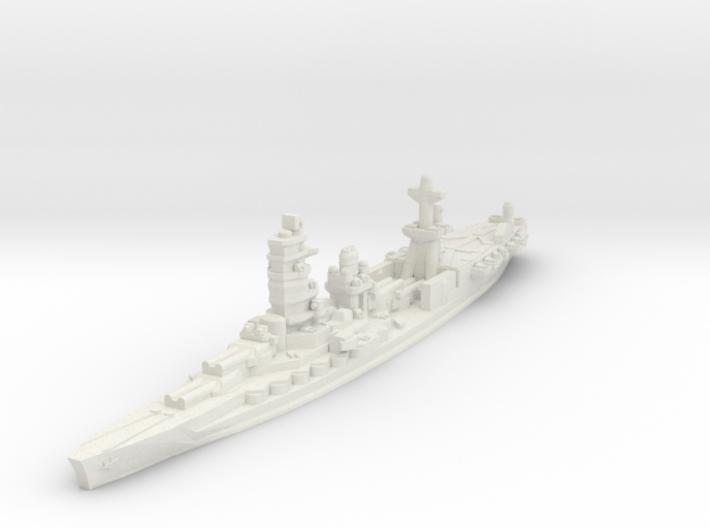 Ise Hybrid Battleship Carrier 1/1800 3d printed