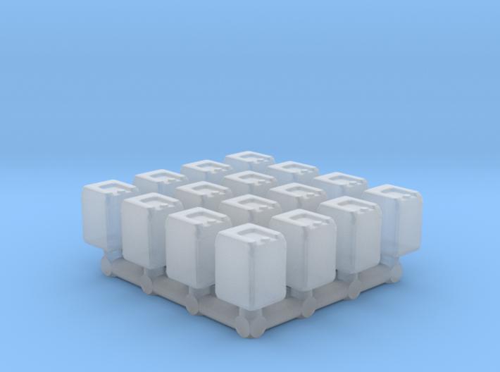 1/87 Scale Water Jugs 3d printed