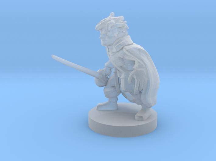 Gnome Arcane Trickester Rogue 3d printed