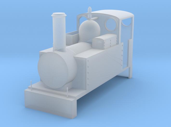 Narrow Gauge Steam #1 3d printed